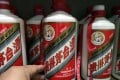 Liquor giant Kweichow Moutai tumbled 3 per cent – it's worst fall in more than six weeks. Above, bottles of Chinese white wine, Maotai. Photo: Simon Song