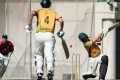 Australian batsman Liam Ginnivan in action during the Royal Commonwealth Society (RCS) cricket cup at the Kowloon Cricket Club in Jordan. Photo: Nora Tam