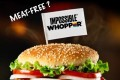 The Impossible Whopper has come under controversy for not being strictly vegan. Photo: Instagram