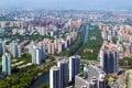 An aerial view of modern flats in Beijing in June 2019: Photo: Shutterstock