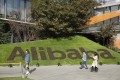 Alibaba's headquarters in Hangzhou. China's onshore money managers are among the biggest new investors in the company's US$12.9 billion stock offering. Photographer: Bloomberg