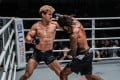Cosmo Alexandre winds up an overhand against Sage Northcutt that left the American with eight facial fractures. Photo: One Championship