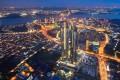 Aerial Night View of The Astaka @ One Bukit Senyum