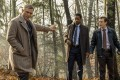 (From left) Daniel Craig, LaKeith Stanfield and Noah Segan star in Knives Out. Photo: Claire Folger/Lionsgate.