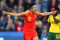 Li Ying celebrates after scoring against South Africa at the 2019 Fifa Women's World Cup in France. Photo: Fifa via Getty Images.