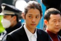 South Korean singer Jung Joon-young, pictured here in March 2019, has been sentenced to six years in jail for gang raping a woman and distributing a video of the act. Photo: Reuters