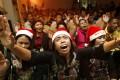 Christians in Jakarta jail attend a Christmas celebration. Photo: Reuters