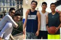 The late Godfrey Gao (left in both photos) died two days before he was supposed to be James Mao's groomsman, at his wedding on November 29. Photo: Facebook/James Mao