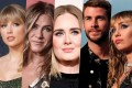 Taylor Swift, Jennifer Aniston, Adele, Liam Hemsworth and Miley Cyrus all made headlines in 2019 – and not necessarily for the right reasons.