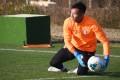 Goalkeeper Yapp Hung-fai in training at the Tseung Kwan O Training Centre. Photo: Chan Kin-wa
