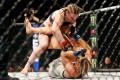 Aspen Ladd fights Yana Kunitskaya during UFC Fight Night at Capital One Arena. Photo: USA TODAY Sports