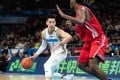 Jeremy Lin in action against the Qingdao Doublestar Eagles in the Chinese Basketball Association in November. Photo: Xinhua