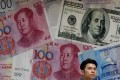 China's foreign exchange reserves fell to US$3.096 trillion in November. Photo: AP