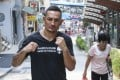 UFC featherweight champion Max Holloway in Sai Ying Pun in August 2017. Photo: K.Y. Cheng