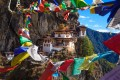 The Tiger Nest Monastery in Bhutan. The Himalayan nation tops both Rough Guides' and Lonely Planet's lists of where to go in 2020. Photo: Shutterstock
