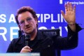 U2 frontman Bono says he 'probably would have been a journalist' if he were not a singer. Photo: AFP