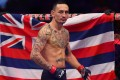 Max Holloway before his fight with Jose Aldo during UFC 218. Photo: AFP