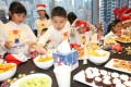 A Christmas party on Wednesday held by Segantii Capital Management. Photo: David Wong