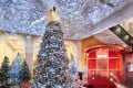 London hotel Claridge's Christmas tree for 2019 was designed by Christian Louboutin. Photo: Handout