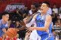 Jeremy Lin on his way to scoring 28 points as Beijing Ducks are surprised by Fujian Sturgeons. Photo: Xinhua