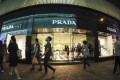 A Prada shop was seen in Causeway Bay, Hong Kong. The fashion house's sales have been dented by six months of anti-government protests that have rocked the city. Photo: Martin Chan