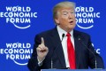 US President Donald Trump is expected to attend the World Economic Forum in January. Photo: Reuters