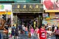 Chungking Mansions in Tsim Sha Tsui, Hong Kong, where the Wong Kar-wai film Chungking Express (1994) was set. Photo: Shutterstock