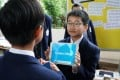 Students participate in English Fun Day at St Paul's College in Hong Kong in March. Photo: Handout