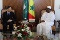 Yang Jiechi meets President Macky Sall of Senegal in Dakar. Photo: Xinhua