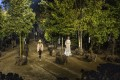 Models show looks from the Dior spring-summer 2020 collection beneath trees that were later replanted around Paris. The fashion industry has accepted the need to foster sustainability. Photo: Vianney Le Caer/Invision/AP