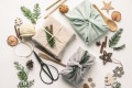 With more consumers keen to reduce their environmental impact, Christmas is the perfect time to make smart consumption choices with fabric wrapped gifts and wooden Christmas decorations, and reusable sustainable recycled textile gift wrapping. Photos: Handouts
