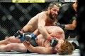 Jorge Masvidal punches Ben Askren as referee Jason Herzog rushes in to stop the fight. Photo: USA TODAY Sports
