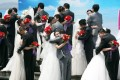 The high cost of getting married in South Korea is preventing many couples from doing so. Photo: EPA