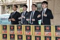 Organisers of a movement seeking to recall Taiwanese presidential candidate Han Kuo-yu as Kaohsiung mayor submit signatures to start the process on Thursday. Photo: CNA