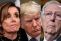 Speaker Nancy Pelosi (left) presided as the Democratic-controlled House of Representatives on December 18 passed Resolution 755 to impeach President Donald Trump. The two articles of impeachment will now pass to the Senate, where the majority leader is Republican Mitch McConnell (far right). Photos: AFP