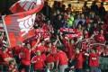 Hong Kong fans support their team at Hong Kong Stadium during the 2017 Guangdong-Hong Kong Cup. Photo: K.Y. Cheng