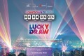 The lucky draw was been rescheduled to 8pm on New Year's Day. Photo: Hong Kong Tourism Board