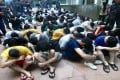 Malaysia's Immigration Department detained 87 China nationals in a series of raids in Puchong. Photo: Facebook
