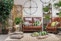 Another flash look is New York retro – think vintage leather sofas and an eclectic mix of furnishings, such as on the television show Friends – and in these furnishings by Tequila Kola. Photos: Handouts
