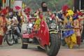 Indian spiritual guru Gurmeet Ram Rahim was jailed in 2017 on rape charges. Photo: AP