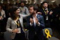 Vice-President of Catalan Government and Esquerra Republicana de Catalunya – ERC member Pere Aragones. Photo: AFP