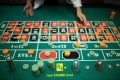 A student practising the game of roulette at the Japan Casino School in Tokyo. Photo: AFP