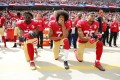 Colin Kaepernick has called out 'US imperialism'. Photo: EPA