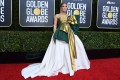 Jennifer Lopez wears a stunning Valentino gown at the 77th annual Golden Globe Awards, in Los Angeles, on January 5. Photo: AFP