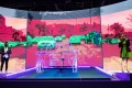 The autonomous vehicle solution by Intel's Mobileye is shown in their booth at CES, the world's largest annual consumer technology trade show, in Las Vegas on January 8. The Trump administration unveiled at CES proposed new guidelines for autonomous vehicle makers. Photo: EPA-EFE