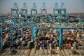 US exports of goods subject to retaliatory tariffs in China were 26 per cent lower in the 12 months ending November than in 2017. Photo: AFP