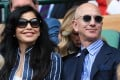 Amazon CEO Jeff Bezos with his girlfriend, Lauren Sanchez, who recently turned 50. Photo: Offside/Getty Images
