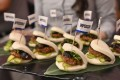 Impossible Pork Char Siu buns. Photo: AFP