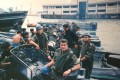Les Bird with the Marine Police unit before an anti-smuggling patrol, in 1991. His memoir, A Small Band of Men, tells high-octane tales of life working as a member of an elite unit during colonial-era Hong Kong. Photo: Les Bird