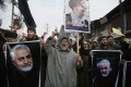 The assassination of Iranian major-general Qassem Soleimani sparked protests in several countries. Photo: AP